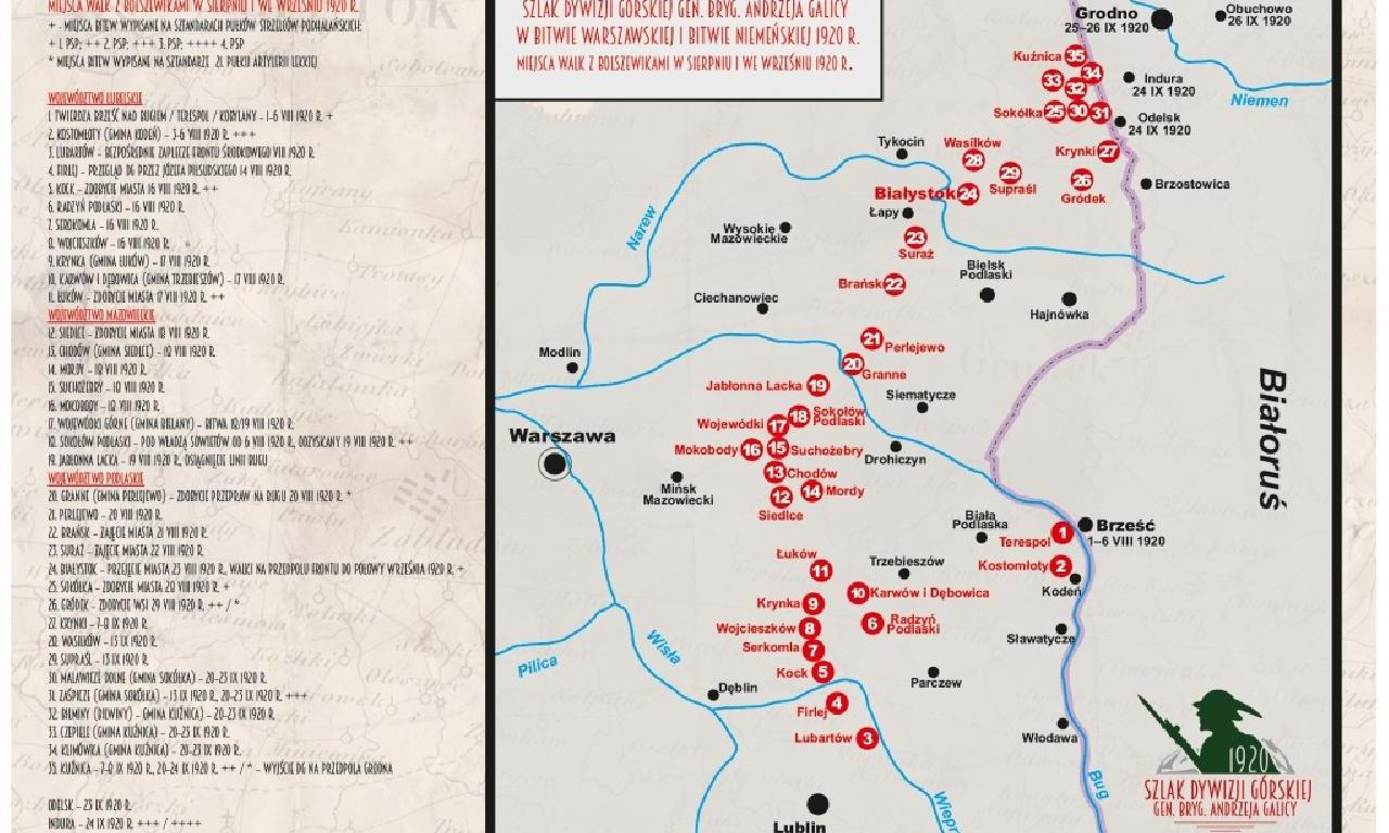 Górale w wojnie 1920 – otwarcie Szlaku Dywizji Górskiej…