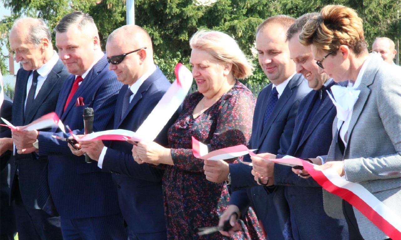 Oficjalne otwarcie przebudowanej drogi powiatowej Nr…