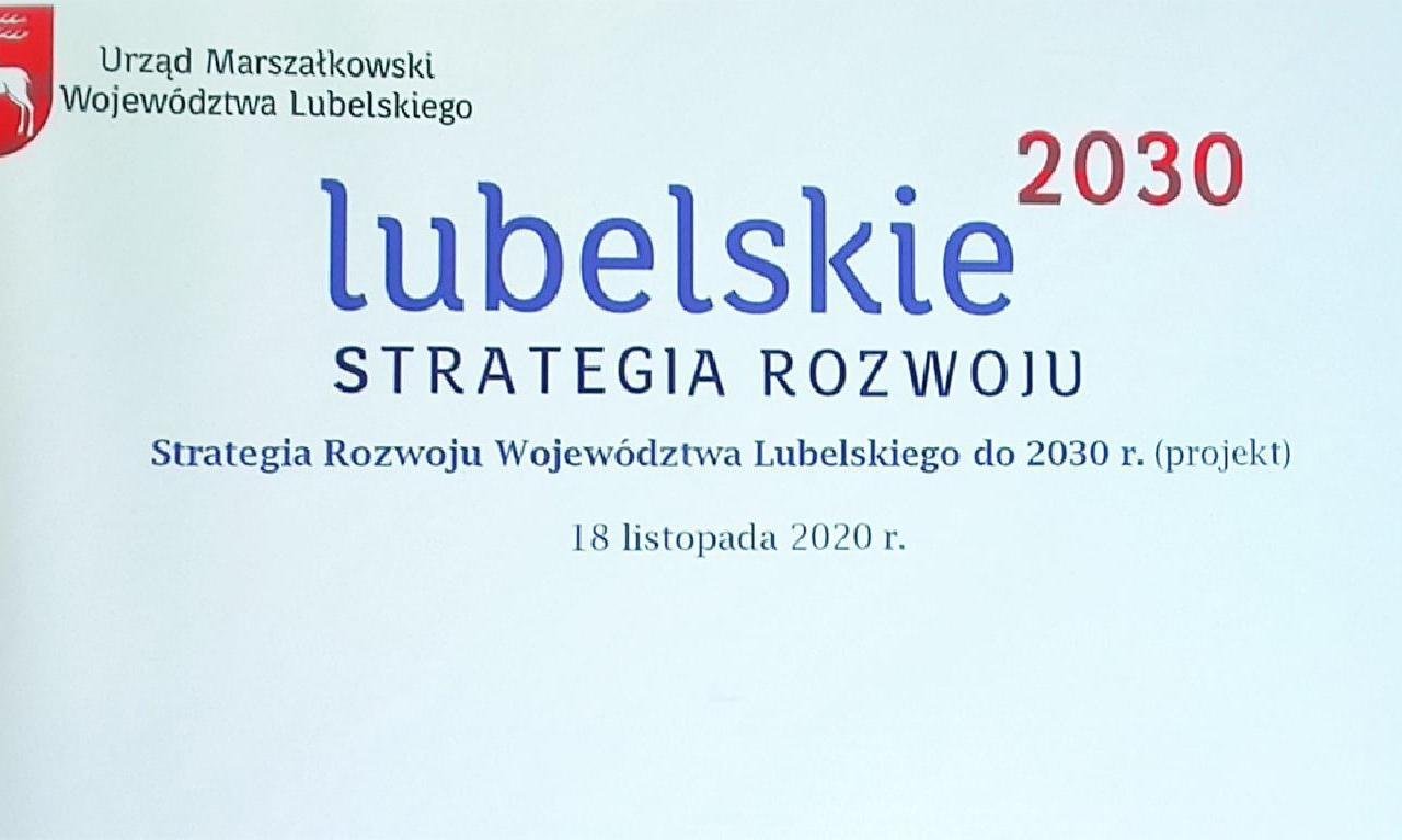 Konsultacje społeczne projektu Strategii Rozwoju Województwa…