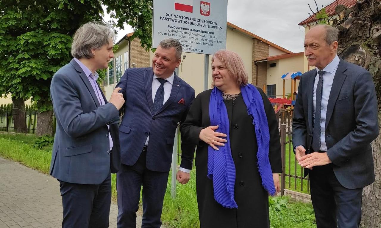 Wizytacja wicewojewody lubelskiego i zarządu powiatu…