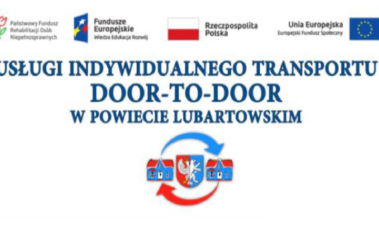 Usługi indywidualnego transportu door-to-door w Powiecie…