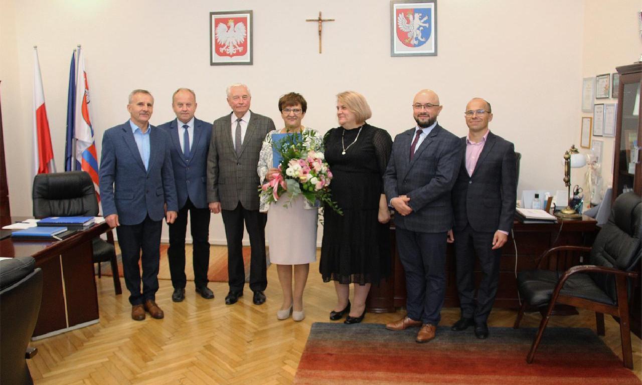 Spotkanie z okazji zakończenia kadencji Dyrektor Anny…